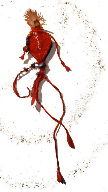 bandaged heart queen