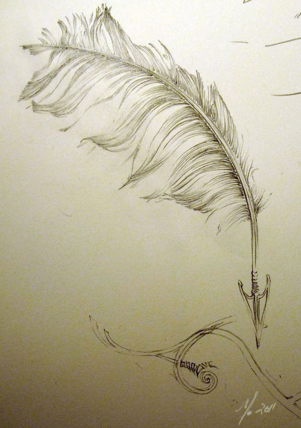 Crow Feather Arrow