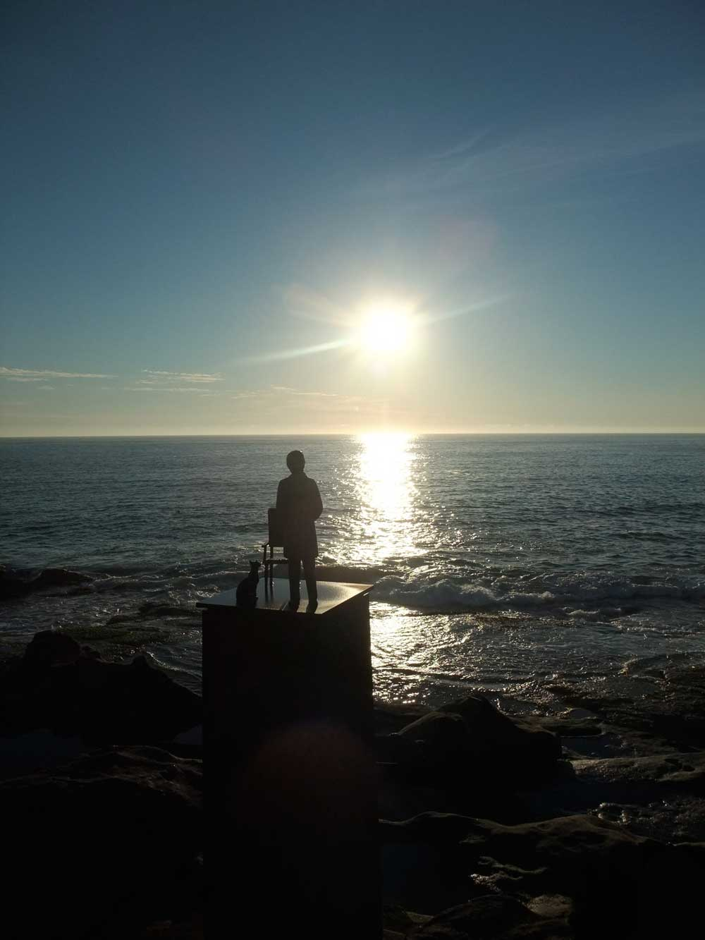 Image result for dawn by the sea