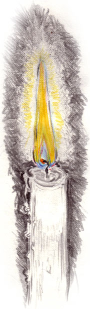 A Candle by Mo