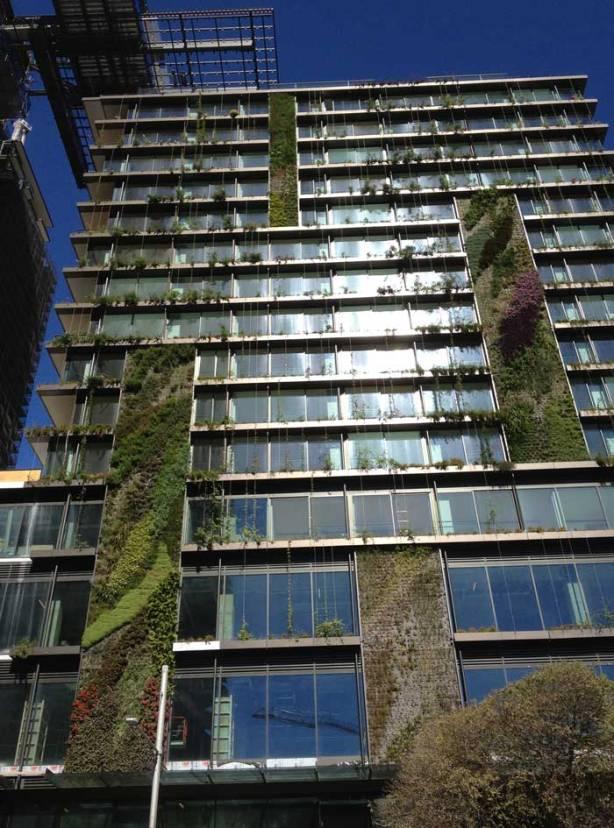 Central Park vertical garden