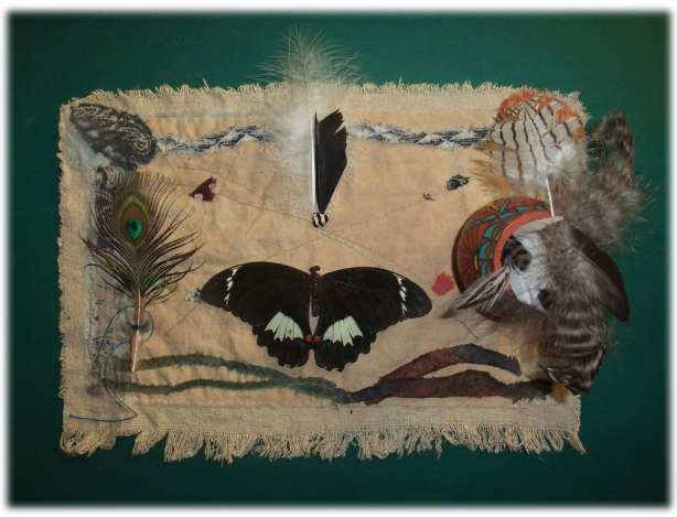 xroads scrying cloth by Grace Forrest Maestras