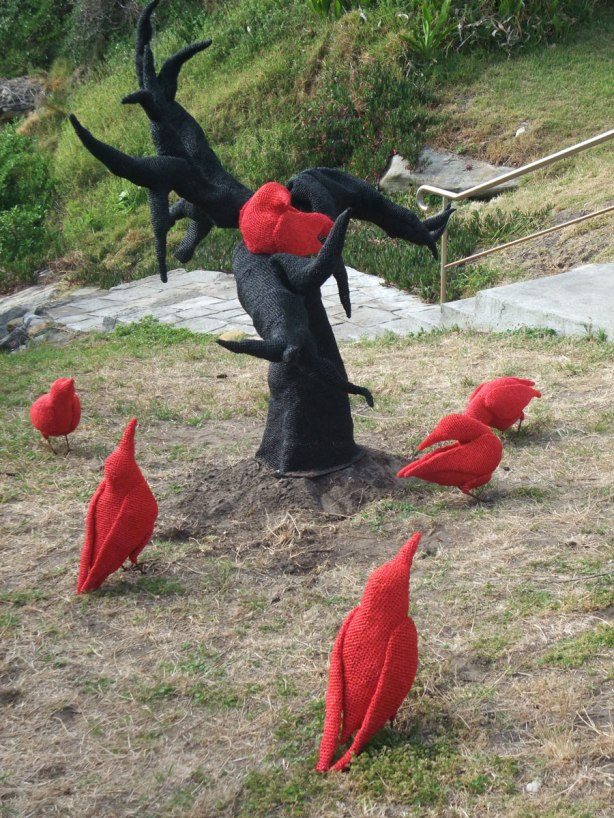 Mikaela Castledine's red crows