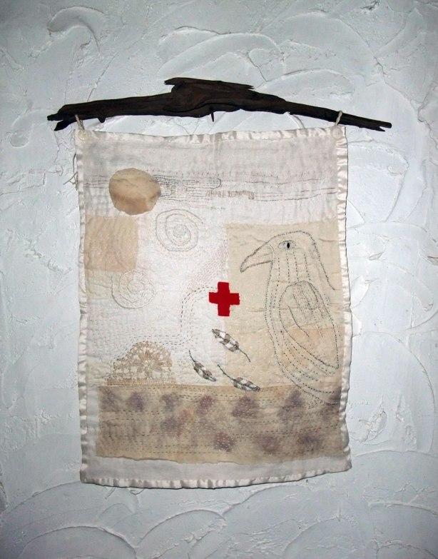 Healing White Raven by Kathy Dorfer 2014