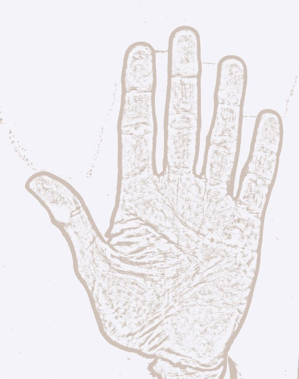 Left-hand-palm