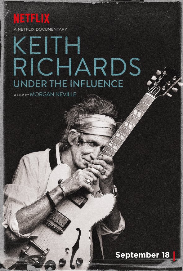 Under the influence Keith Richards