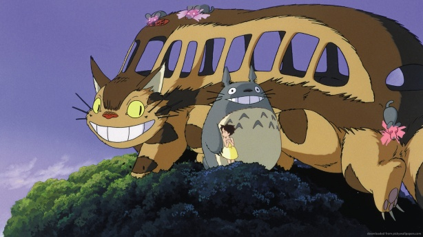 catbus from My Neighbour Totoro