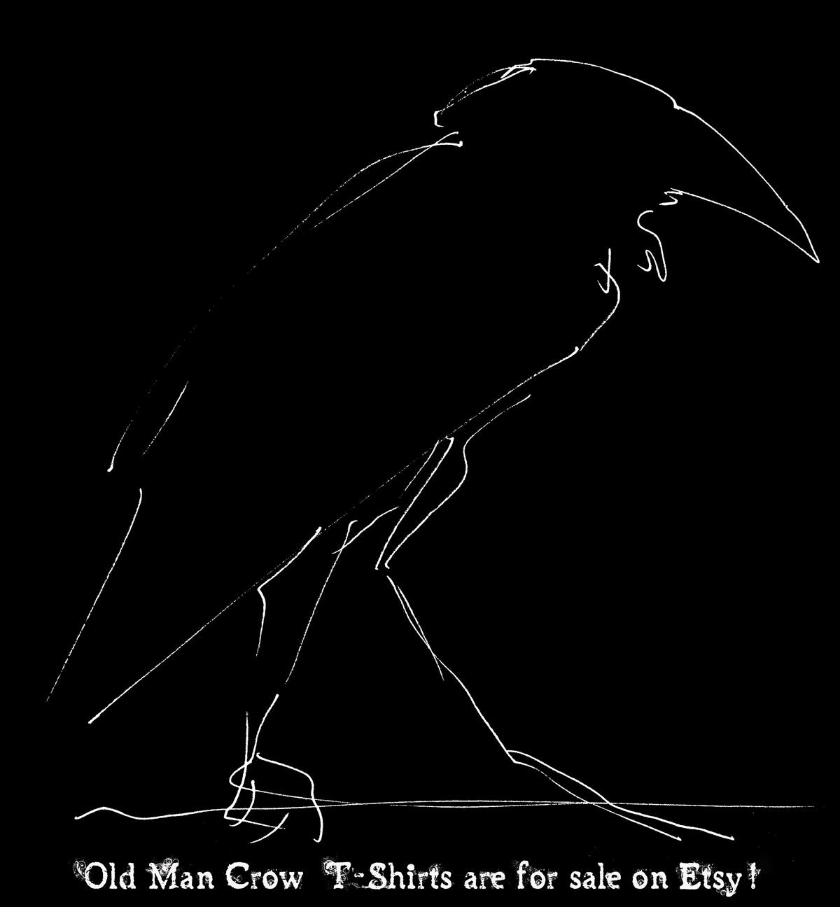 Crow-T-shirts-on-Etsy
