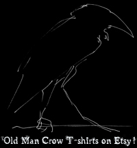 It's Crow Time Shop at Etsy