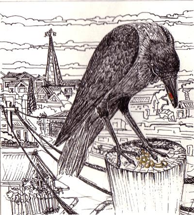 Crow and his treasures Mo 2004