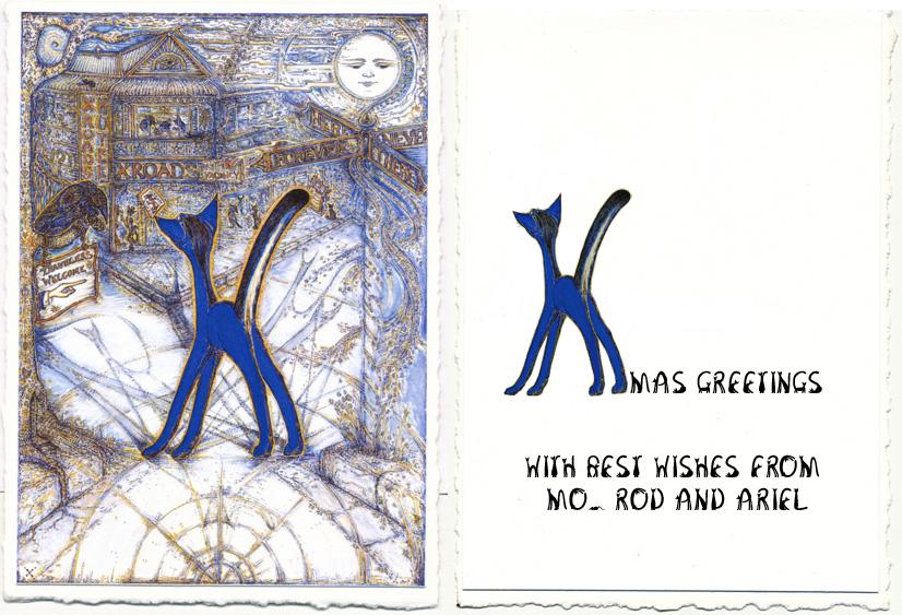 Letter X xmas card 2011