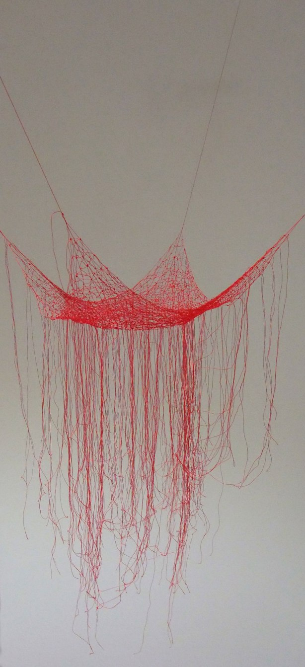 Akiko-Ikeuchi-Knotted-Thread-red-2015-2016