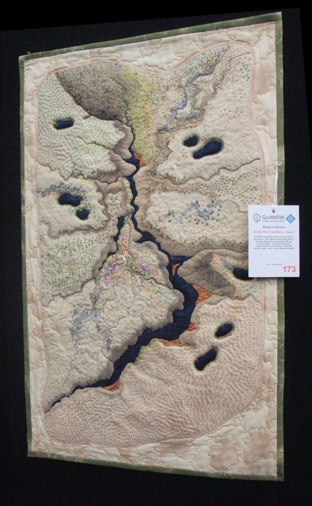 Margaret Wallace Snowy River Landform-Take 2